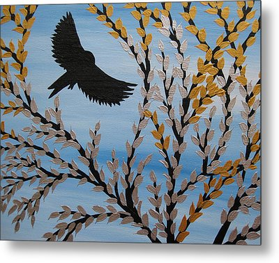 Flying Freely Metal Print