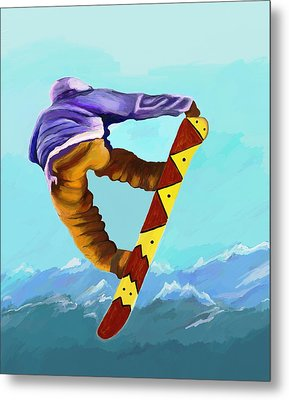 Flying High Metal Print by Jeanne Fischer