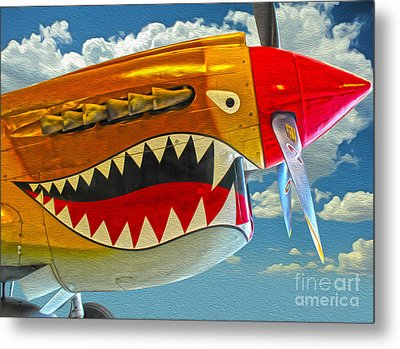 Flying Tiger Metal Print by Gregory Dyer