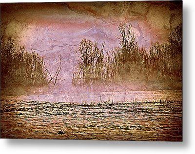 Fog Abstract 3 Metal Print by Marty Koch