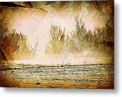 Fog Abstract 5 Metal Print by Marty Koch
