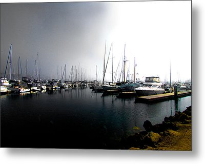 Metal Print featuring the photograph Fog Bank by Joseph Hollingsworth