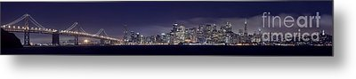 Fog City San Francisco2 Metal Print by Mike Reid