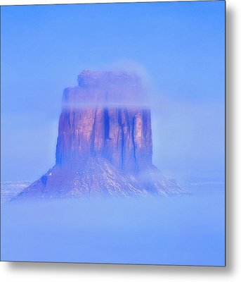 Fog Cover  Metal Print