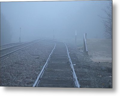 Fog Metal Print by DEM Photos