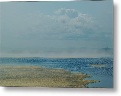 Fog Lifting Metal Print