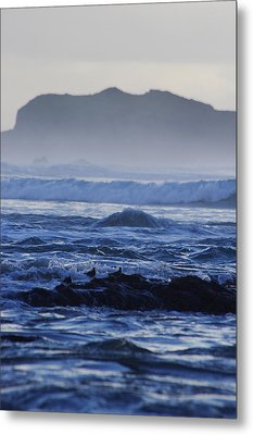 Metal Print featuring the photograph Fog Rolling In by Adria Trail