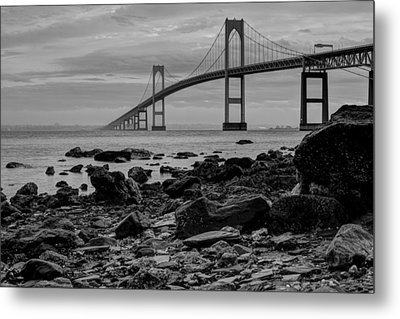 Fog Rolls Over The East Passage Metal Print
