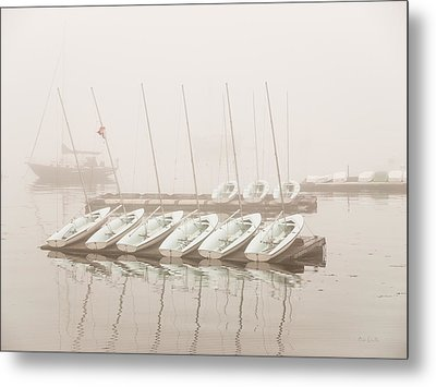 Fogged In Again Metal Print by Bob Orsillo