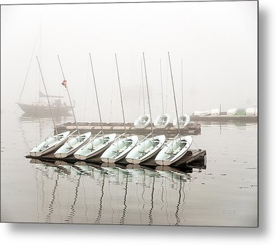 Fogged In Metal Print by Bob Orsillo