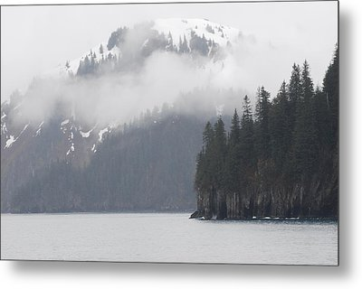 Foggy Journey Metal Print