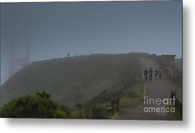 Foggy Memories Metal Print by Along The Trail