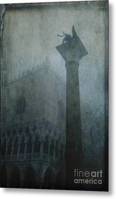 Foggy Morning Metal Print by Marion Galt