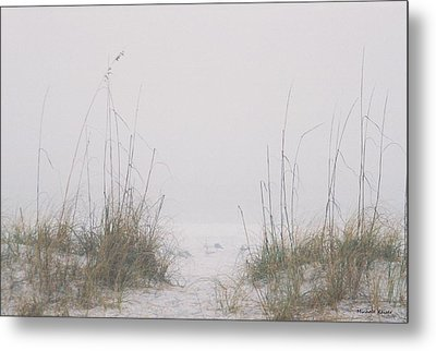 Foggy Morning Metal Print by Michele Kaiser