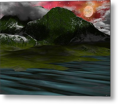Foggy Mountain Dew Metal Print