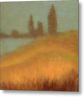 Foggy Skyline From Felixs Metal Print