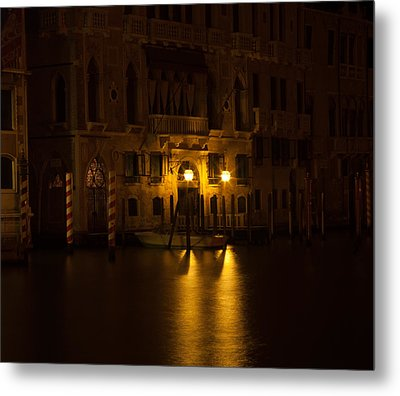 Follow Me Across The Water And Time Metal Print