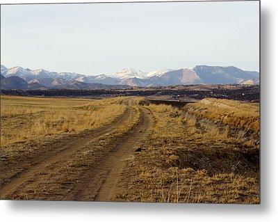Follow That Road Metal Print by Dana Moyer