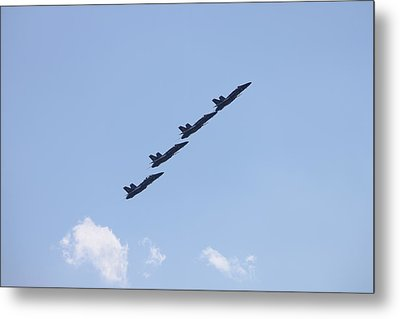 Follow The Leader Metal Print by French Toast