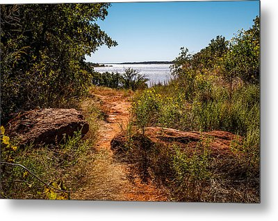 Follow The Path Metal Print