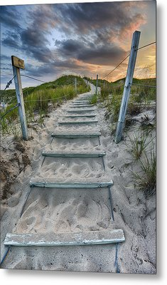 Metal Print featuring the photograph Follow The Path by Sebastian Musial