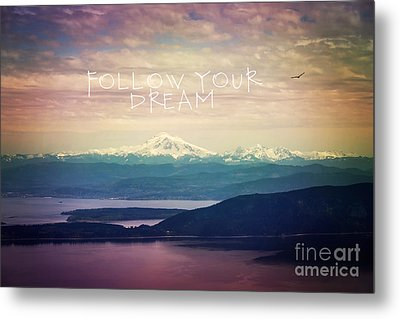 Metal Print featuring the photograph Follow Your Dream by Sylvia Cook