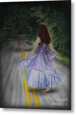 Follow Your Path Metal Print by Jackie Mestrom