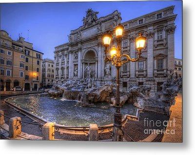 Fontana Di Trevi 3.0 Metal Print by Yhun Suarez