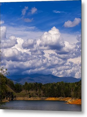Fontana Lake Storm 2 Metal Print by Chris Flees