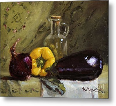 Food Still Life Metal Print