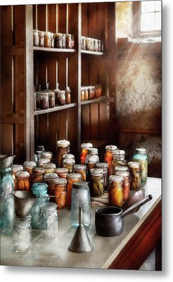 Food - The Winter Pantry  Metal Print