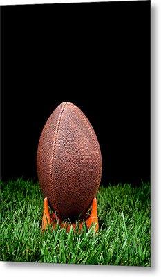 Football Kickoff Metal Print by Joe Belanger