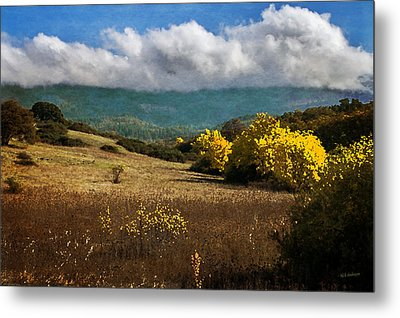 Foothill Autumn In Southern Oregon Metal Print by Mick Anderson