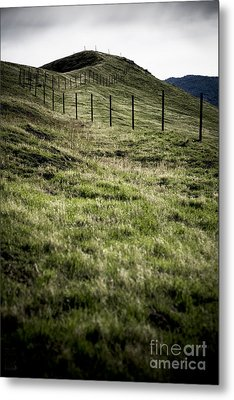 Foothills Of The Tehachipis Metal Print by Rich Collins
