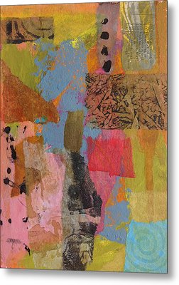 Metal Print featuring the mixed media Footprints by Catherine Redmayne