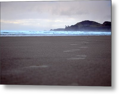 Footprints Metal Print by Sheldon Blackwell