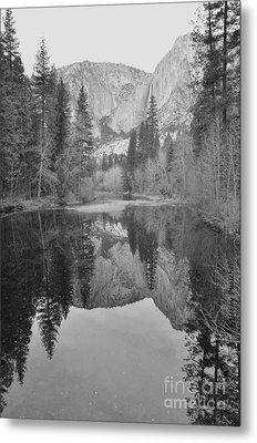 Footsteps Of Ansel Adams Metal Print