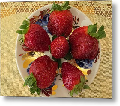 For Dessert II Metal Print by Zina Stromberg