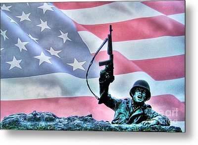 For Freedom Metal Print by Dan Stone
