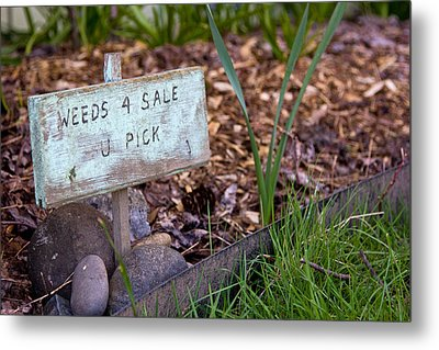 For Sale Sign Metal Print by Bob Noble Photography