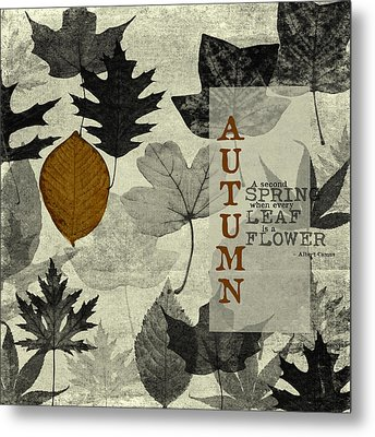 For The Love Of Autumnn Metal Print by Bonnie Bruno
