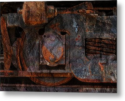 For The Love Of Rust 2 Metal Print by Jack Zulli
