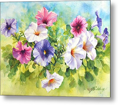 For The Love Of Summer Metal Print by Betty M M   Wong