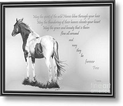 for the Wildies Metal Print
