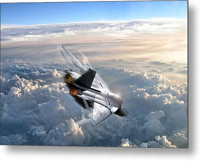 For Those About To Rock Metal Print by Peter Chilelli
