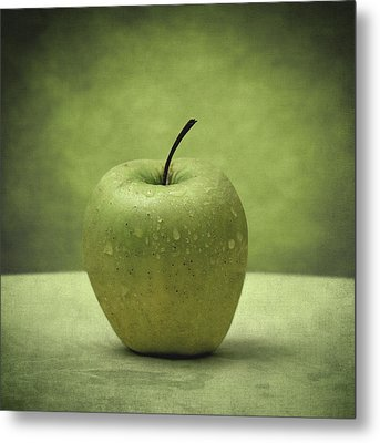 Forbidden Fruit Metal Print by Taylan Apukovska
