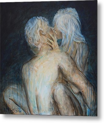 Forbidden Love - Erotica Metal Print