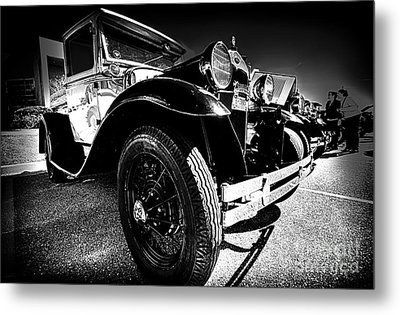 Ford Antique Cars Metal Print by Danny Hooks