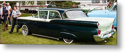 Metal Print featuring the photograph Ford Classic Automobile by Mick Flynn