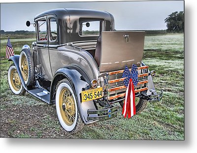 Metal Print featuring the photograph Ford Classic by Dyle   Warren